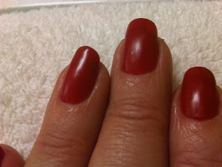 Wax Manicure with Essie