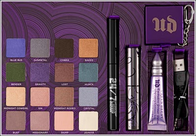 Urban Decay Box of Shadows Vol IV
