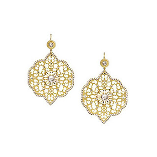 Swarovski Elements Oriental Ear-Rings