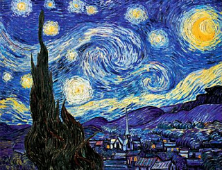 Starry+Night+over+St+Remy+Vincent+van+Gogh