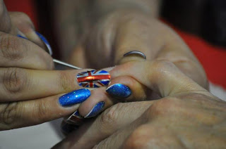 Rebecca Adlington's Winning Nails