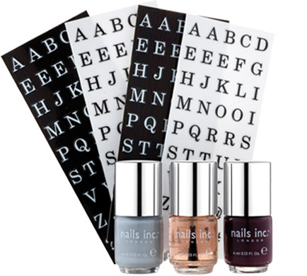 Nails Inc Monogram Manicure