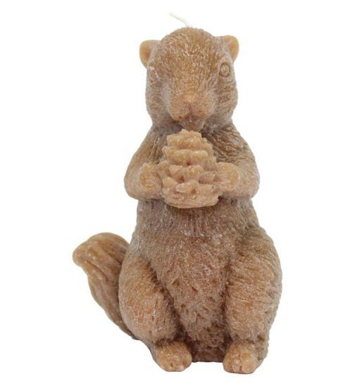 Squirrel Candle