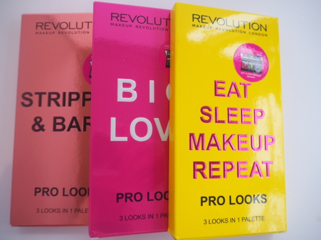 Makeup Revolution Pro Looks Palettes
