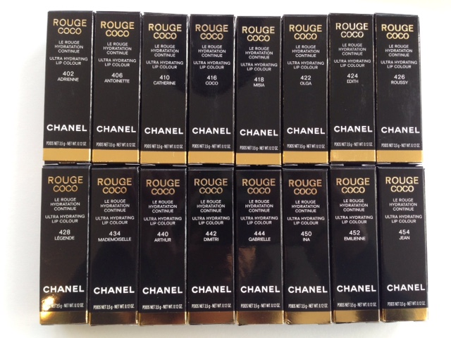 Chanel Rouge Coco Relaunch 2015