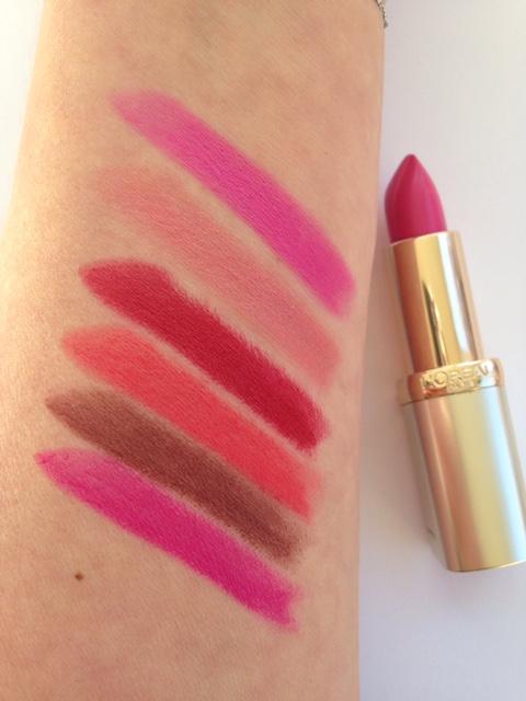 L'Oreal Color Riche 30 Years Lipsticks