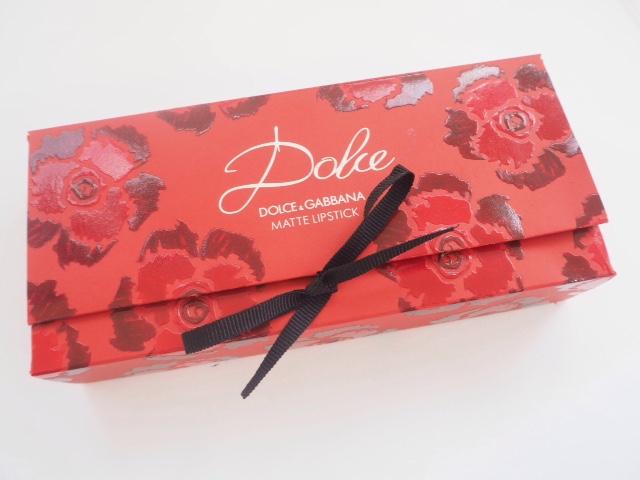 Dolce & Gabbana Matte Lipsticks