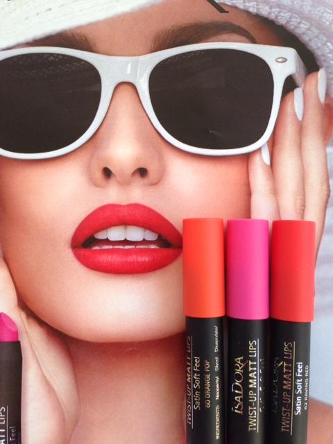 Isadora Twist Up Matte Lips