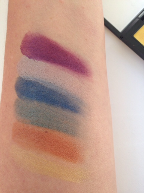 MAC Trend Palette Fall 2015 Eyes