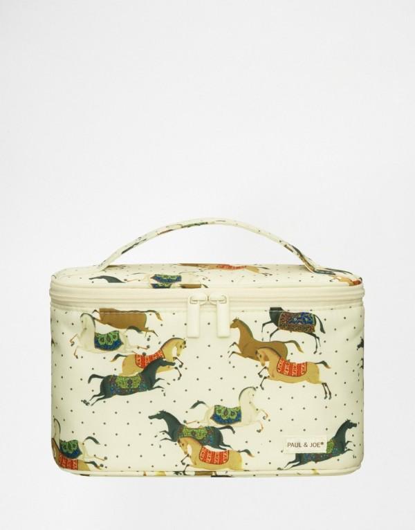 Paul & Joe Horses Vanity Bag