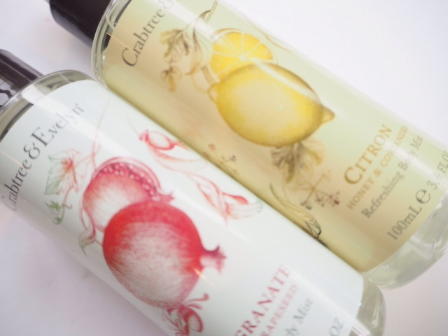 Crabtree & Evelyn Body Mists
