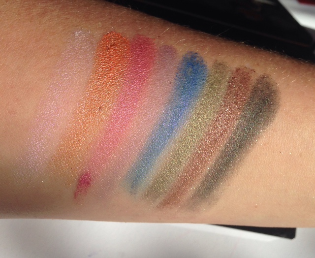 Makeup Revolution Mermaids Forever Swatches Line 3