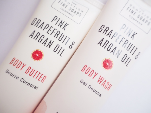 Scottish Fine Soaps Grapefruit & Argan