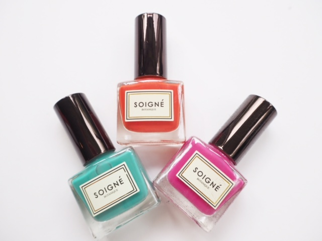 Soigne Summer Nails 2015