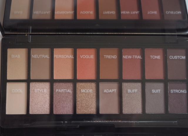 Makeup Revolution New-trals Palette