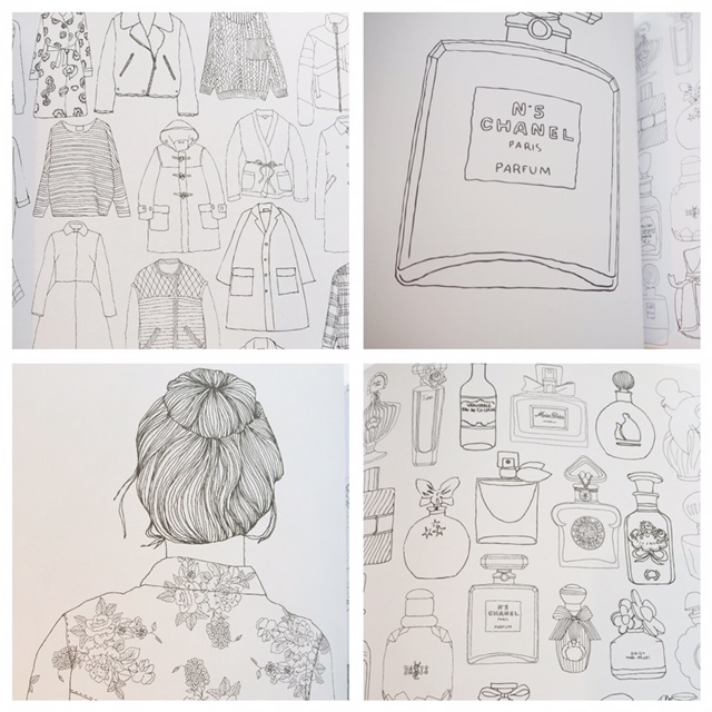 Zoe de Las Cases Colouring Books