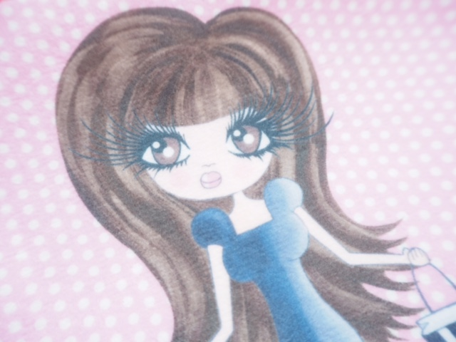ClaireaBella Customised Makeup Bag