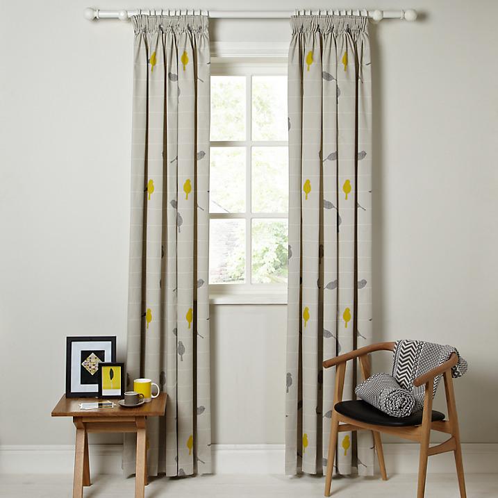John Lewis Bird Curtains