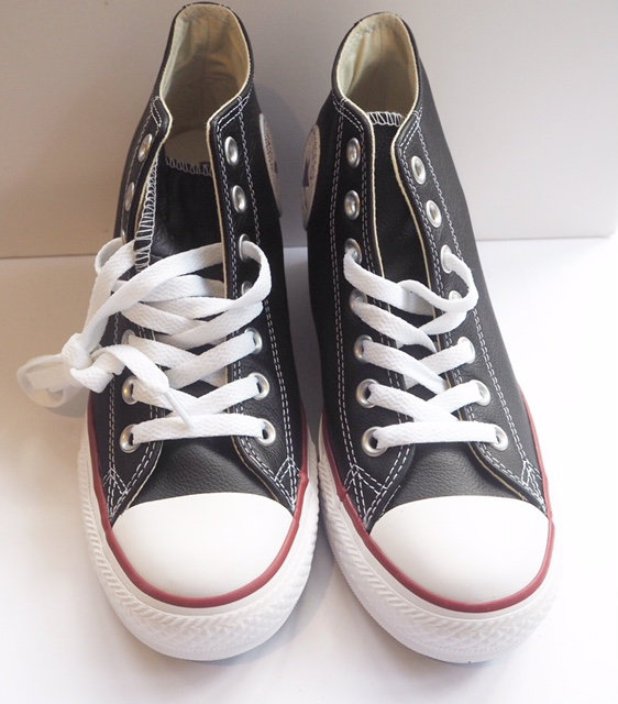 Leather Wedge Converse