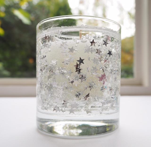 Stoneglow White Sandalwood Twinkle Candle