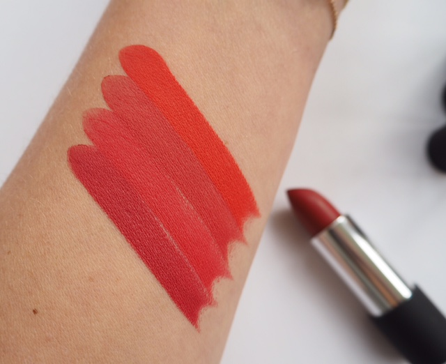 B Matte Red Lipsticks