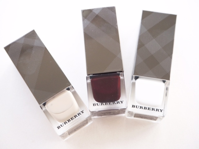 Burberry Spring 2016 Nails