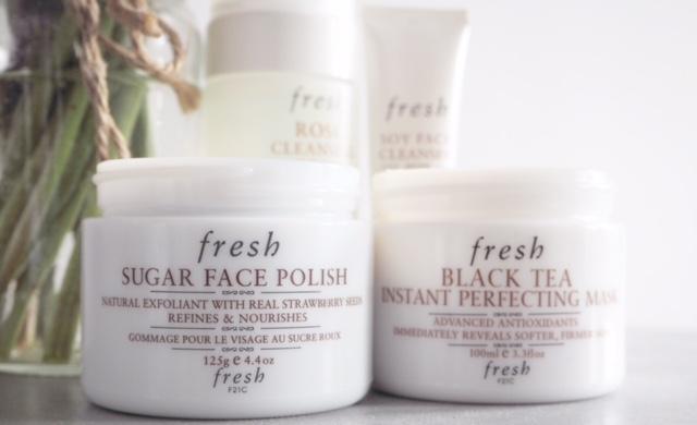 Fresh Sugar Face Polish & Black Tea Mask
