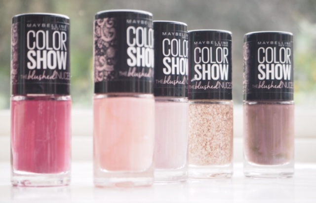Maybelline Color Show Blushed Nudes Nails
