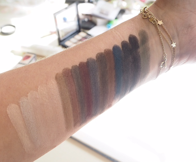 NYX Ultimate Palette Swatch