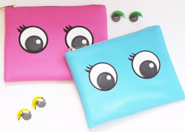 Superdrug Eyes Cosmetic Bags