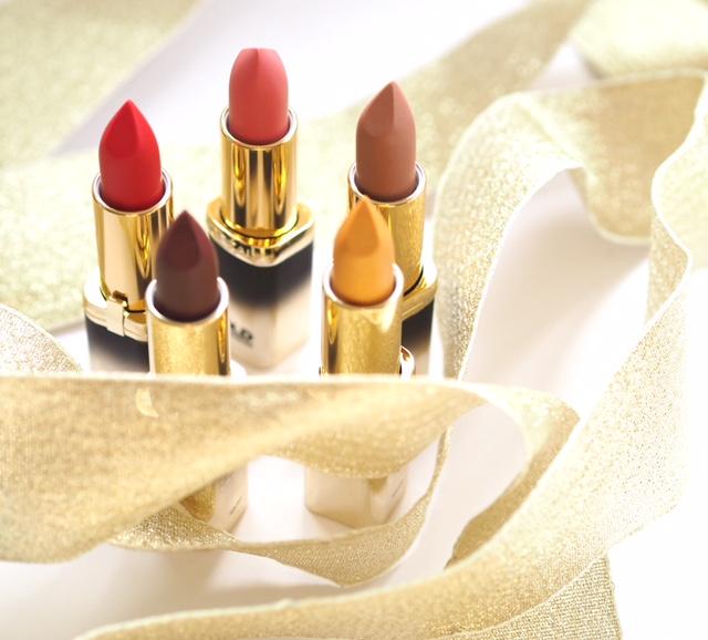 L'Oreal Paris Color Riche Gold Obsession Lipsticks