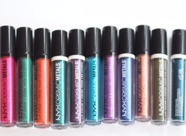 NYX Cosmic Metals Lip Cream