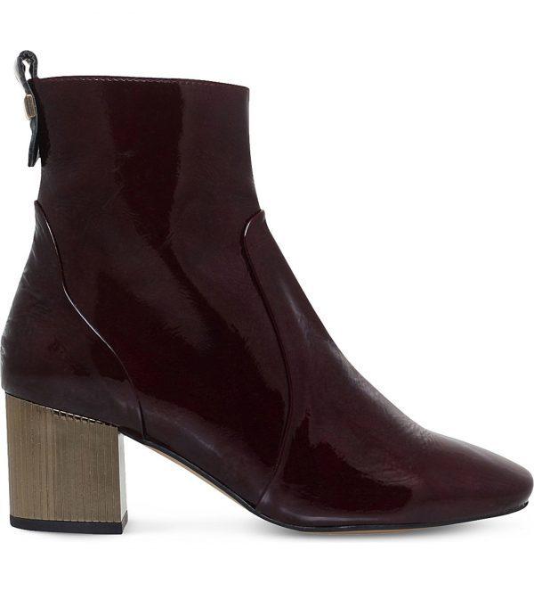 Carvella Patent Boots