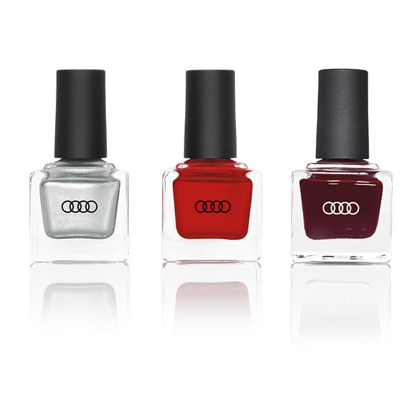 Audi nail polish