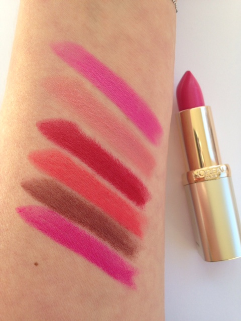 L'Oreal Color Riche 30 Years Lipsticks