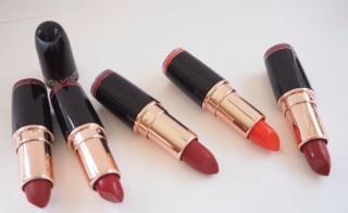 MakeupRevolution Iconic Pro Lipstick Swatches