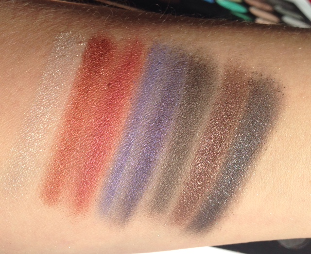 Makeup Revolution Mermaids Forever Swatches