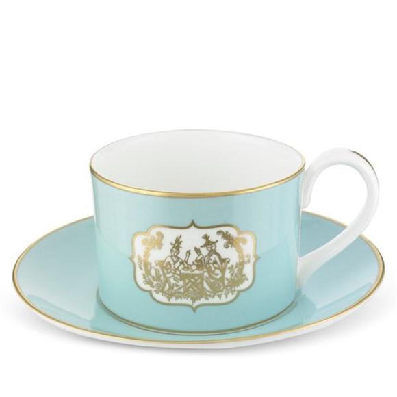 St James Eau de Nil China Teacup & Saucer