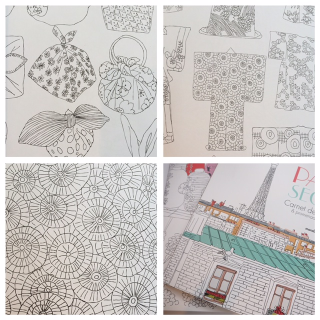 Zoe de Las Cases Colouring Books