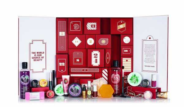 The Body Shop Advent Calendar 2015