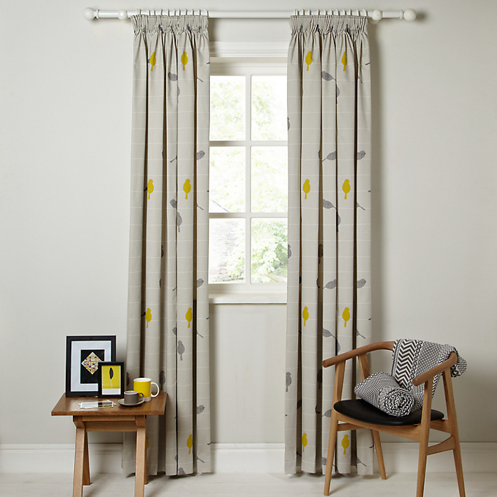 John Lewis Bird Curtains