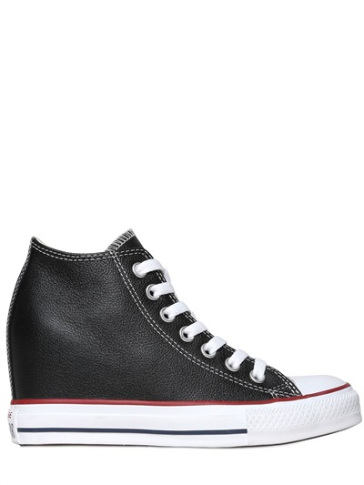 6432b3ba0d0d Accessory Wednesday   Leather Wedge Converse