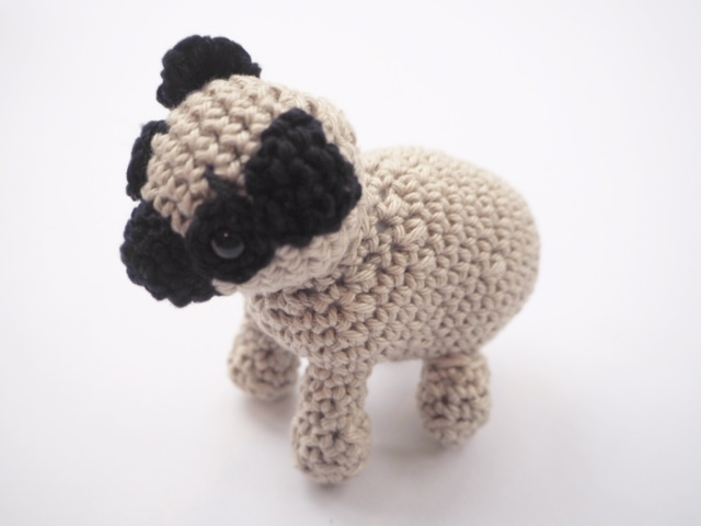 Accessory Wednesday Crochet Pug