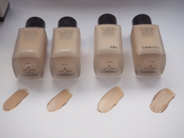Chanel Les Beiges Healthy Glow Foundation