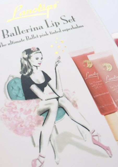 Lanolips Ballerina Lip Set