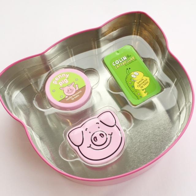 Percy Pig Lip Balm Set