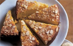 Nigella Apple & Almond Cake