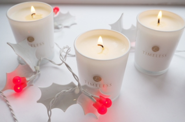 Timeless Candles Black Plum & Pomegranate