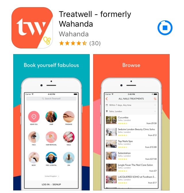 Treatwell App