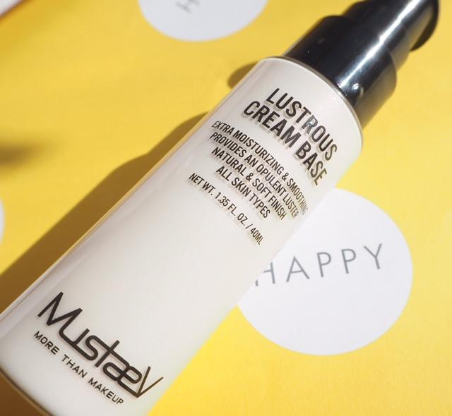 Mustaev Lustrous Cream Base